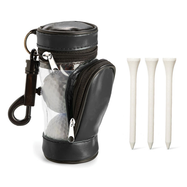 Golf Balls & 3 Tee Set Product Image