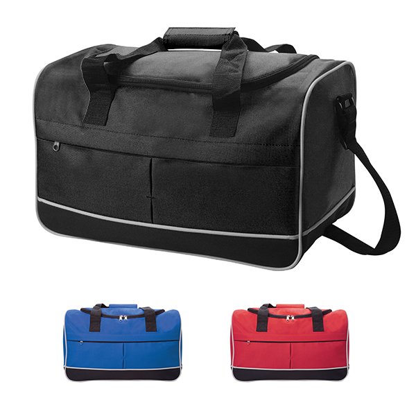 Compact Sports Bag - Red A image
