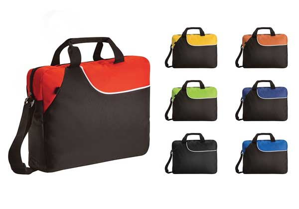 Weekend Conference Bag Black Lime