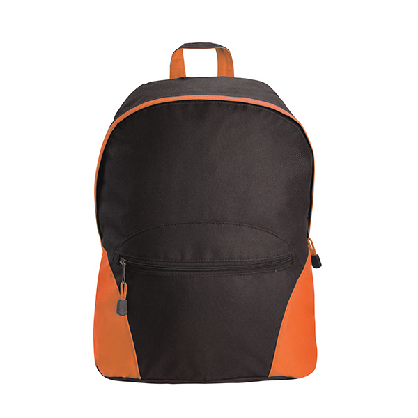 Active Gear Backpack - Black & Orange Lt image